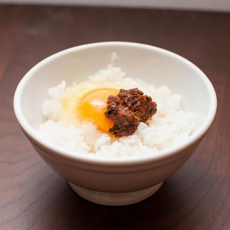 オロチョン入りちょい足し卵かけご飯